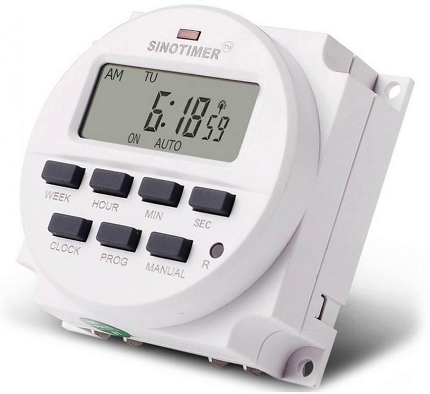 Таймер включения и выключения электроприборов: механический, электронный и GSM