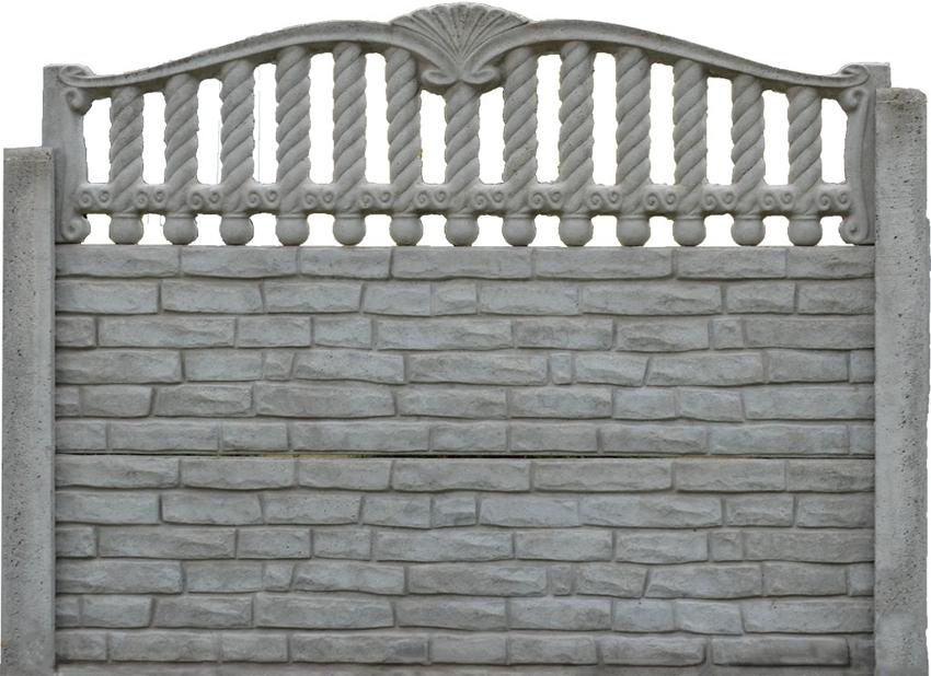 Монтаж бетонного наборного забора можно осуществить своими силами
