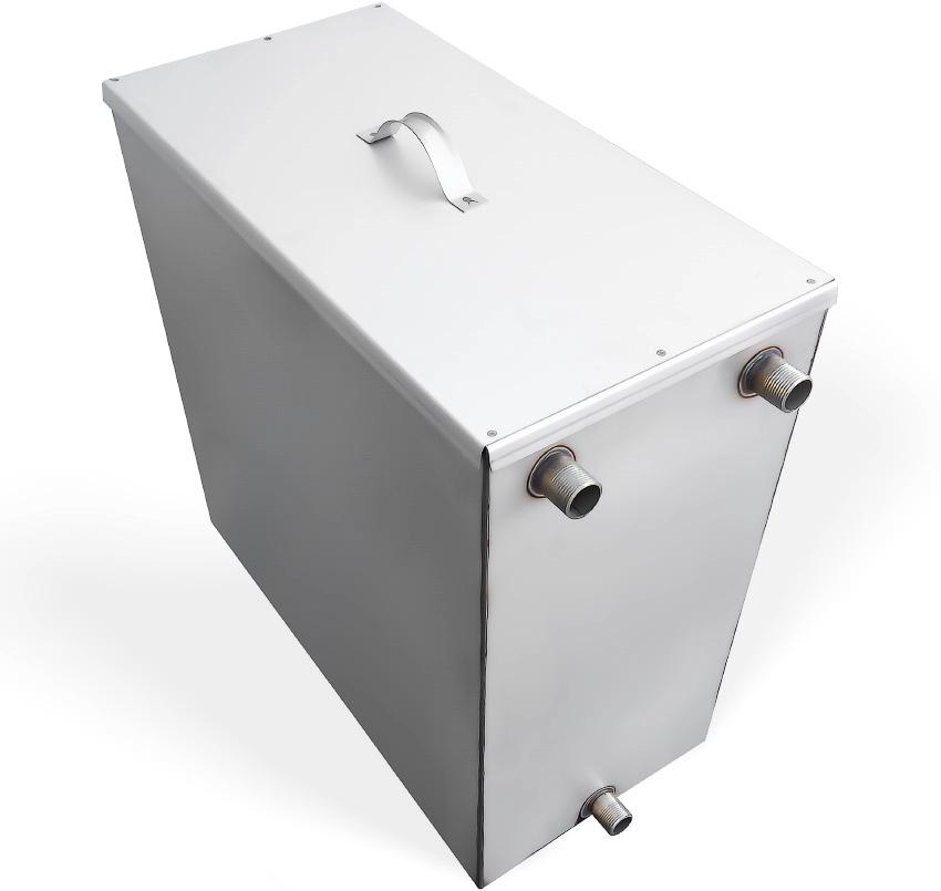 Расширительный бак служит для накапливания жидкости в процессе работы системы