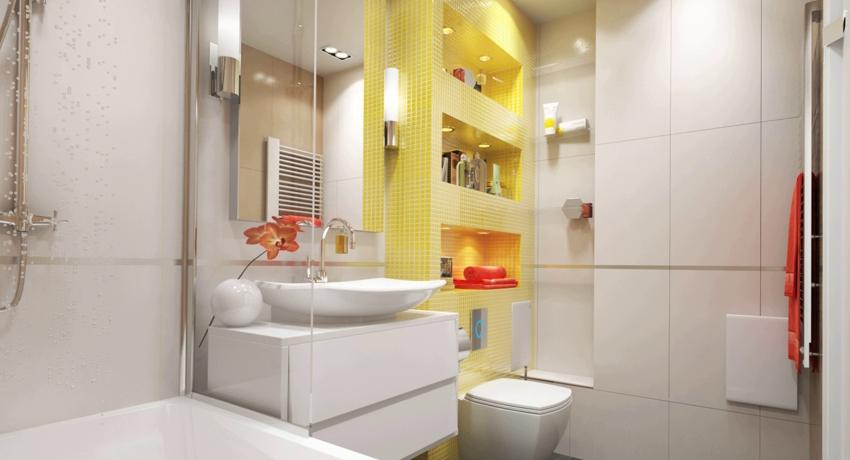 Полки в ванной из гипсокартона что учесть для создании долговечных конструкций