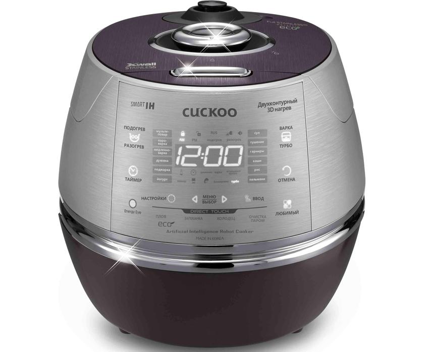 Производитель Cuckоo предлагает мультиварки премиум класса